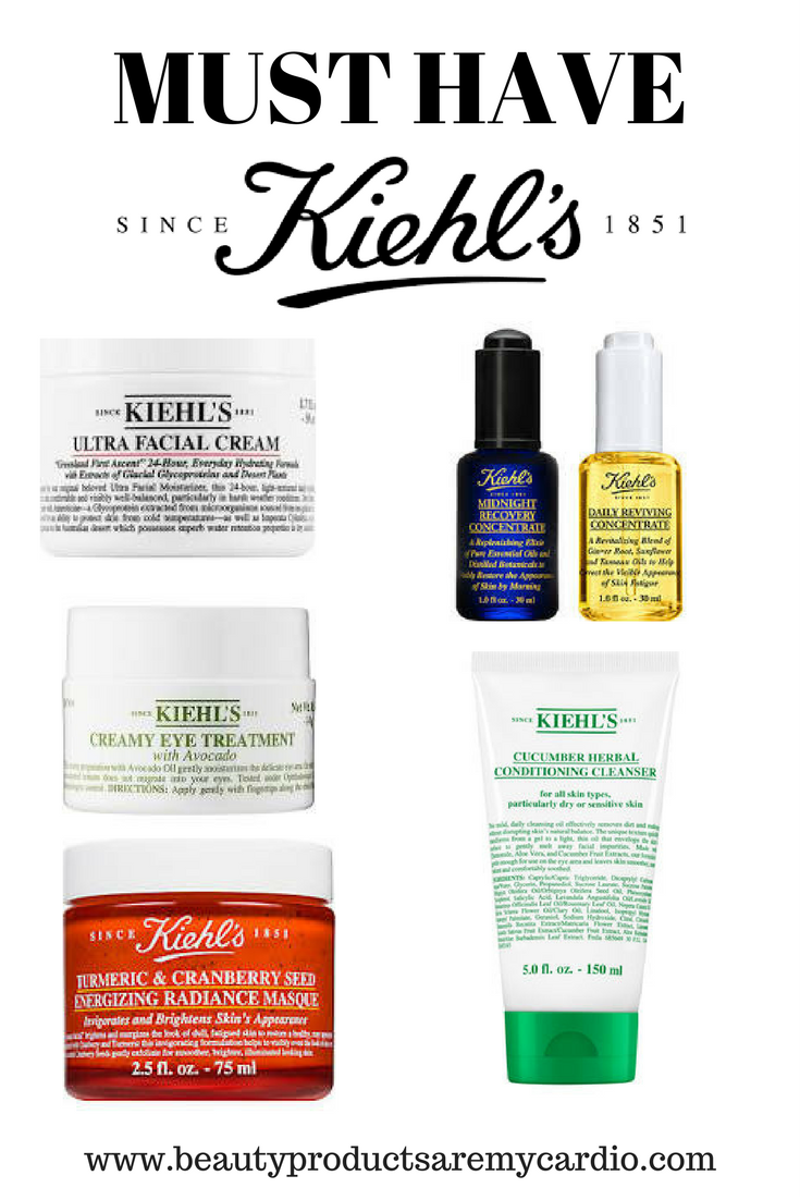 must have kiehl 39 s skincare bpamc picks beauty products are my cardio. Black Bedroom Furniture Sets. Home Design Ideas
